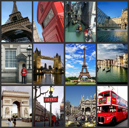 Picnik collage europe plan