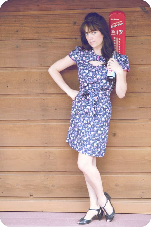 MM 6-24 rosey riveter dress