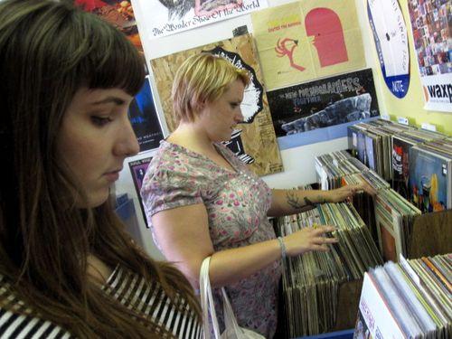Record store Mandi Patty