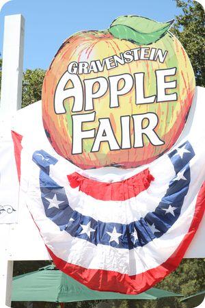 Apple fair entrance