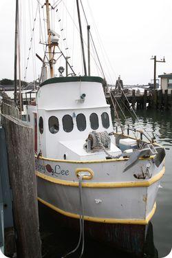 Bodega pier boat