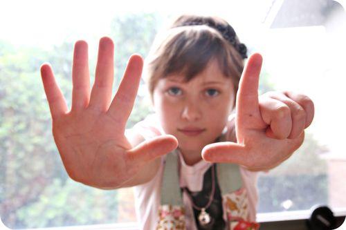 Ava bday 7 fingers