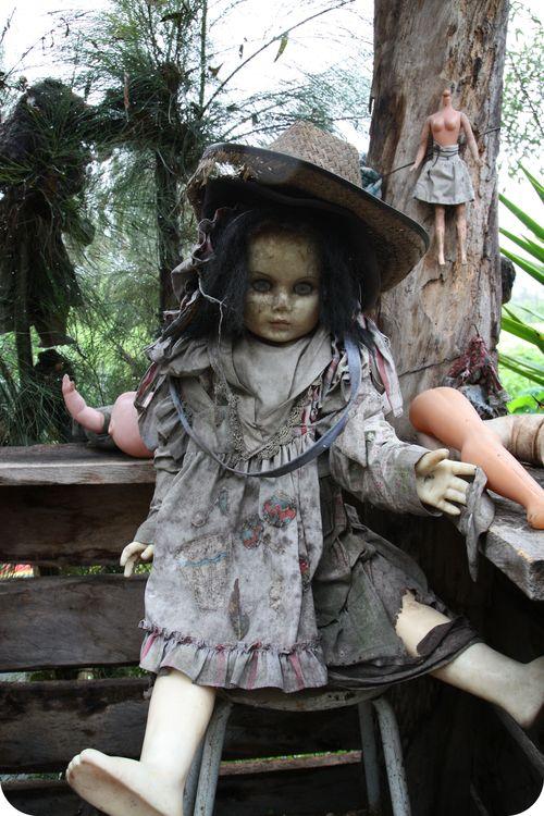 Xim doll island spooky