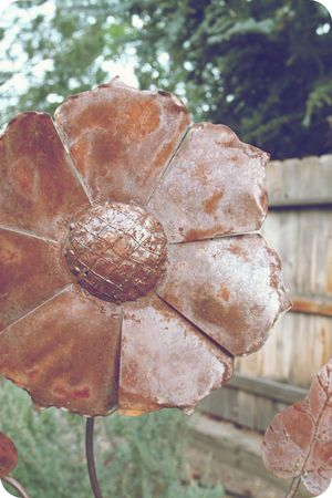 Bronzed flowers 7