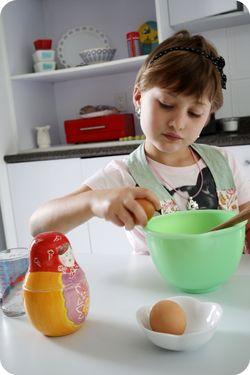 Ava bday baking