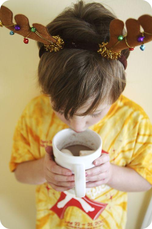 Ava reindeer cocoa