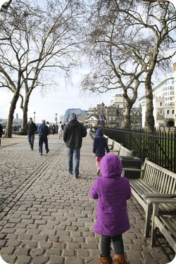London walkway
