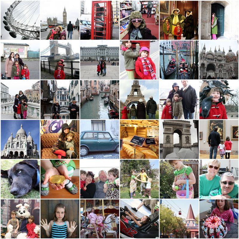 2010 collage part 1 Jan-July