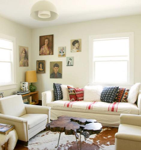 Cool living room white