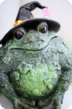 Halloween toad