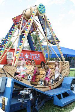 Fall fest boat