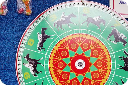 Fall festival green wheel