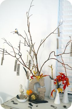 Thanksgiving tree buffet
