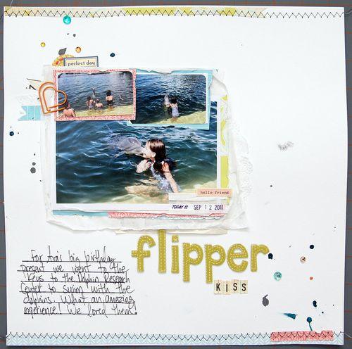 Flipper kiss