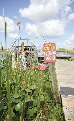 Glades floating dock