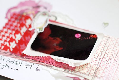 Valentine close up