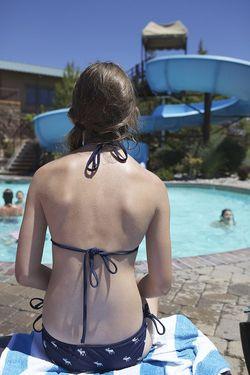Summer mck back pool