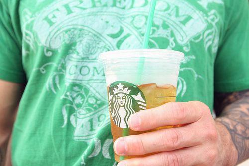 St pats green tea