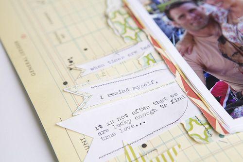 My true love close journaling