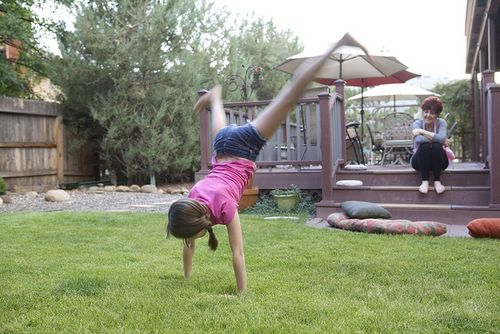 Summer cartwheel