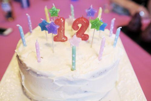 Summer 12 cake