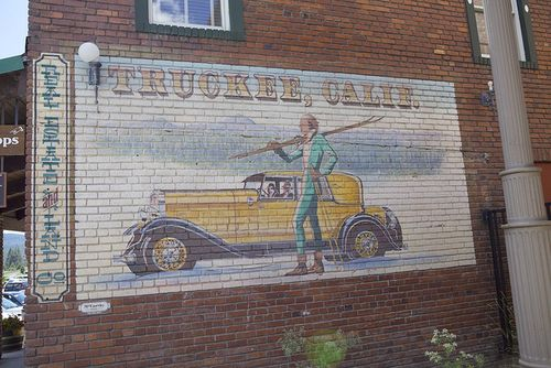 Summer truckee sign
