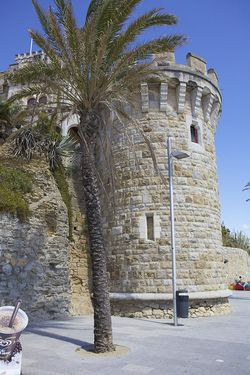 Portugal estoril castle tower 2