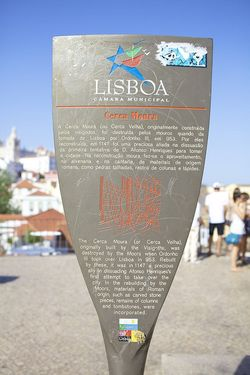 Portugal Lisboa sign