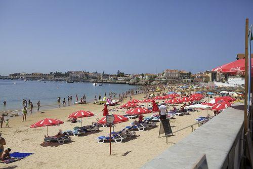 Portugal estoril beach
