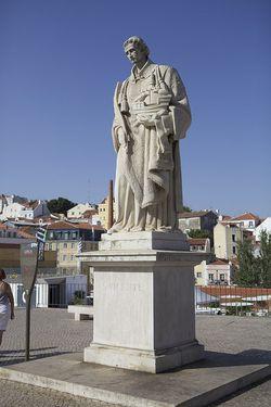 Portugal Lisbon statue