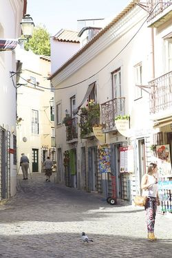 Portugal Lisbon SJ streets