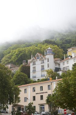 Portugal morning fog Sintra