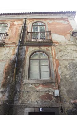 Portugal weathered Sintra house
