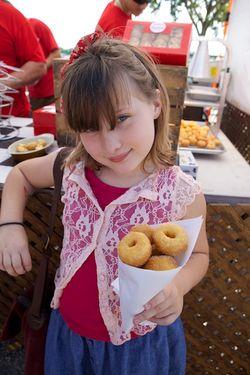 PP apple cider donuts