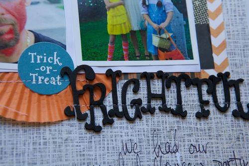 LO halloween frightful title
