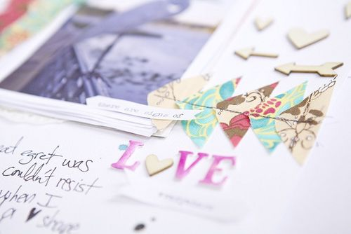Look Love journaling