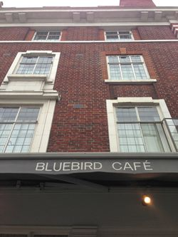 London 13 Bluebird cafe