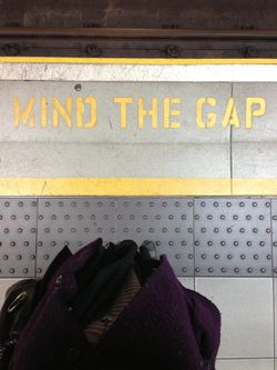 London 13 Mind the Gap