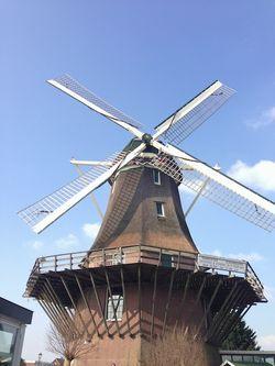 London 13 AM windmill