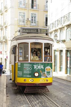 Portugal Lisbon trolley