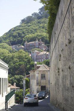 Portugal sintra village hillside