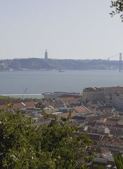Portugal Lisbon skyline sea