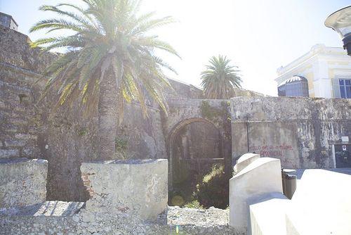 Portugal sunny castle cascais