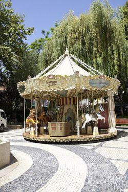 Portugal Cascais carousel