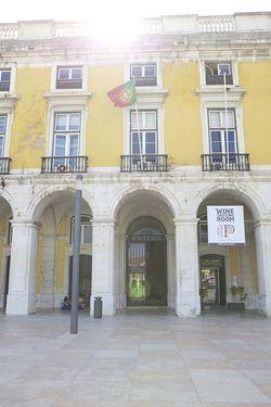 Portugal yellow sunshine building