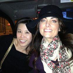 London 13 friends in cabs