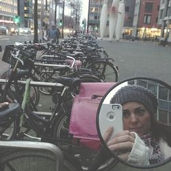 London 13 AM self in bike mirror copy