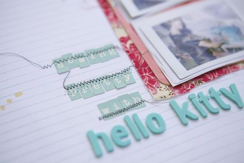 Sewing pretty journaling