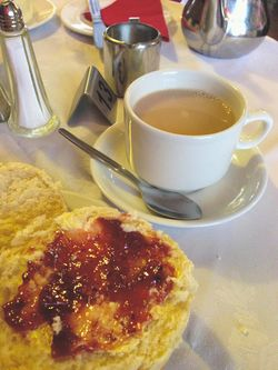 London 13 tea and crumpets