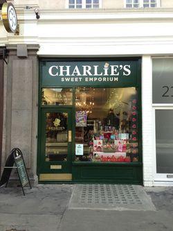 London 13 Charlie's shop